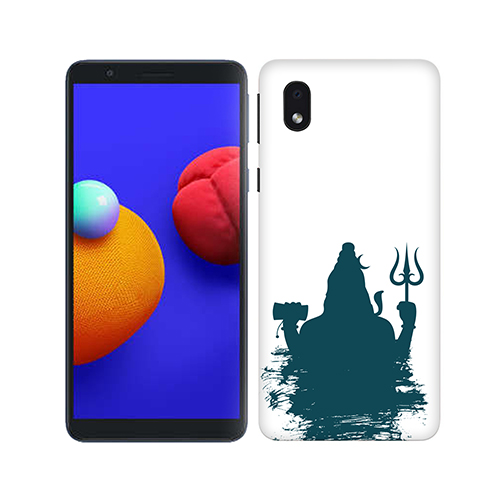 Shiva Blue Shadow Phone Cover for Samsung M01