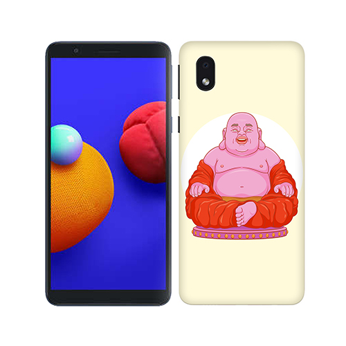 Laughing Budhha Phone Cover for Samsung M01