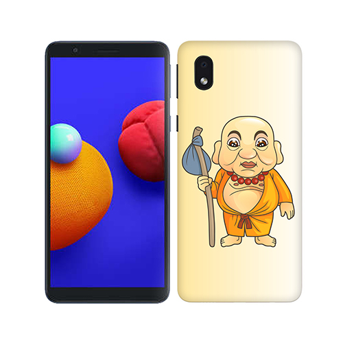 Walking Budhha Phone Cover for Samsung M01