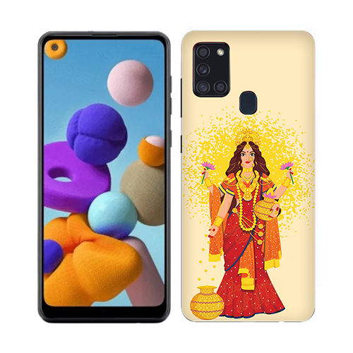 Maa laxmi Mobile Phone Cover for Samsung A21s