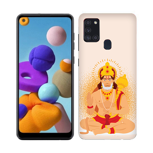Bhakt Hanuman Mobile Phone Cover for Samsung A21s