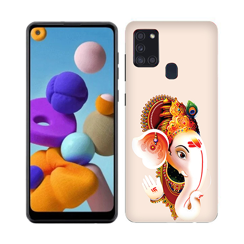 Ganesha Mobile Phone Cover for Samsung A21s