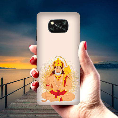 Bhakt Hanuman Phone Cover for Xiaomi Poco X3