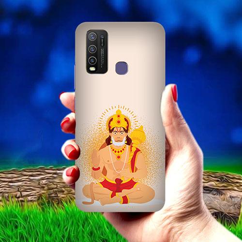 Bhakt Hanuman Mobile Phone Cover for Vivo Y50
