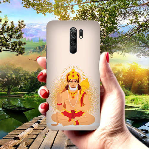 Bhakt Hanuman Phone Cover for Redmi 9 Prime