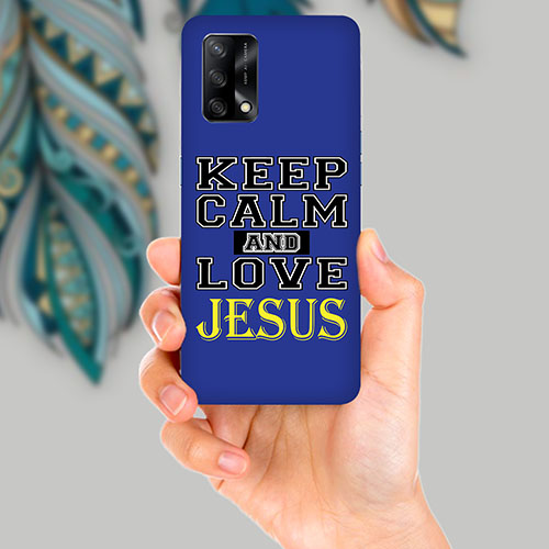 Keep Calm Mobile Back Cover for OPPO F19