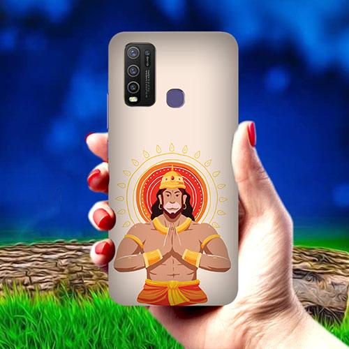 Jai Hanuman Mobile Phone Cover for Vivo Y50