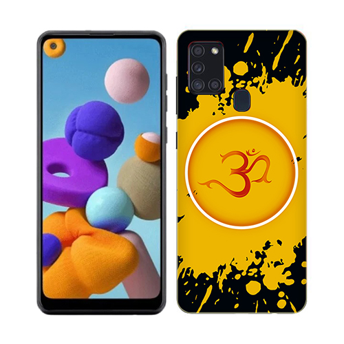 Om Dark Phone Cover for Samsung A21s