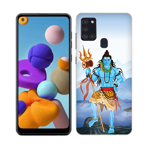 Shiv Kailash Phone Cover for Samsung A21s