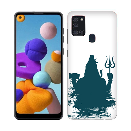 Shiva Blue Shadow Phone Cover for Samsung A21s