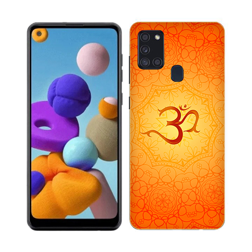 Om Phone Cover for Samsung A21s