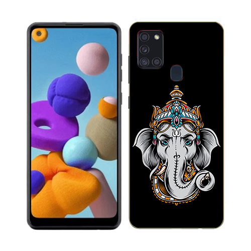 Ganesha Dark Phone Cover for Samsung A21s