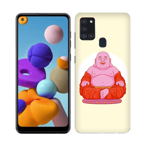 Laughing Budhha Phone Cover for Samsung A21s