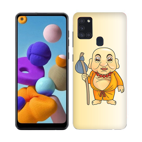 Walking Budhha Phone Cover for Samsung A21s