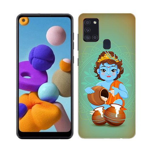 Kisna Makhanchor Phone Cover for Samsung A21s