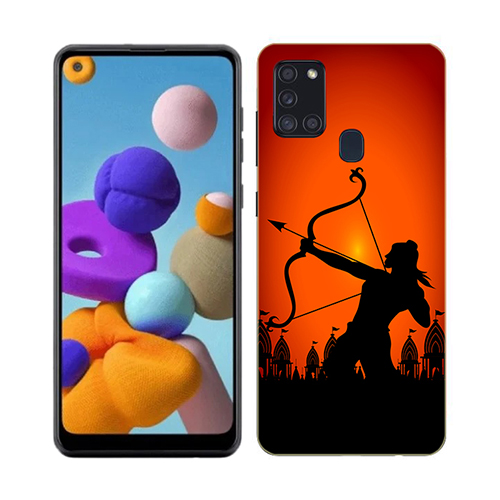 Dhanurdhari Ram Phone Cover for Samsung A21s