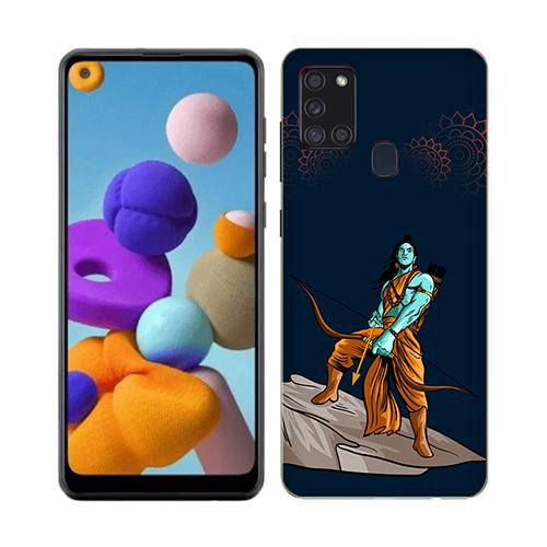 Dhanurdhari Ram Dark Phone Cover for Samsung A21s