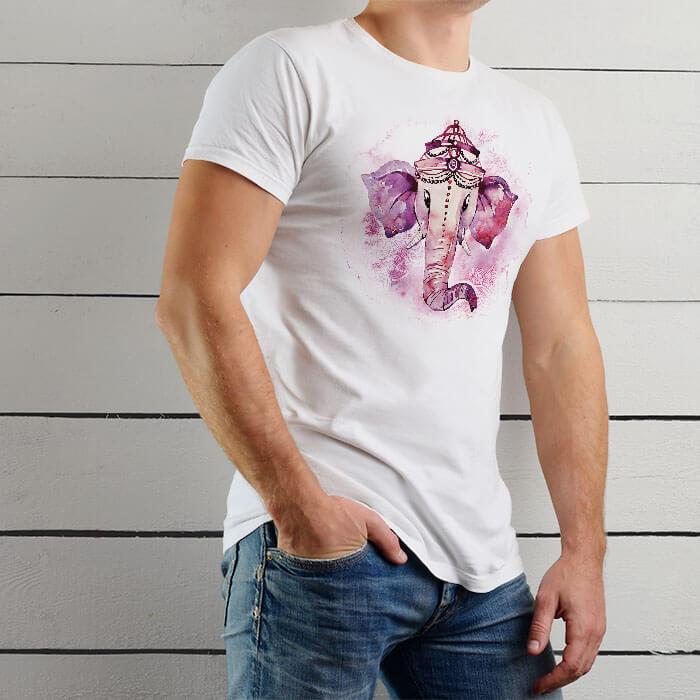 Colorful Ganesha best t shirt for men