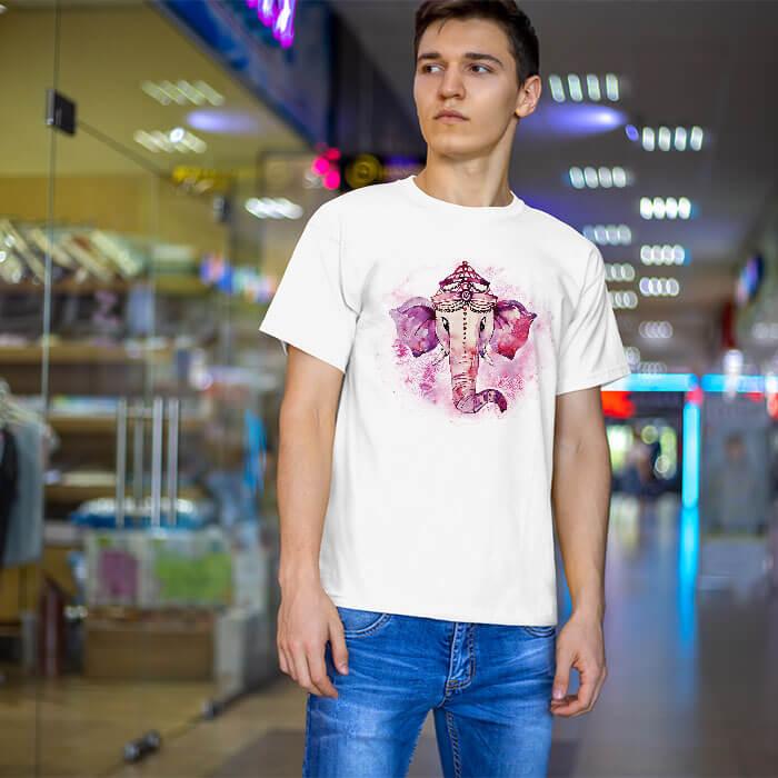Colorful Ganesha t-shirt for men