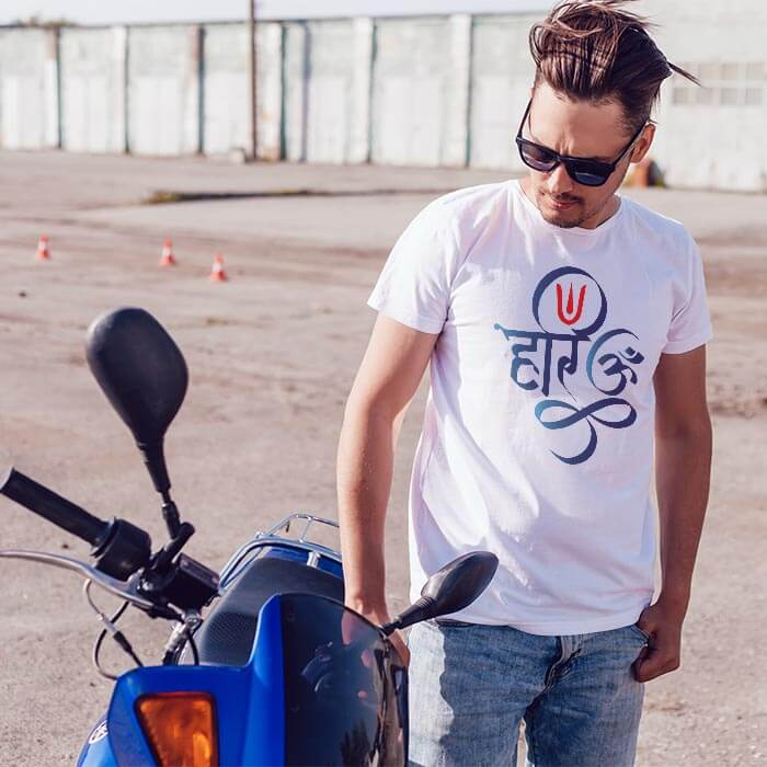 Hari Om t-shirt for men