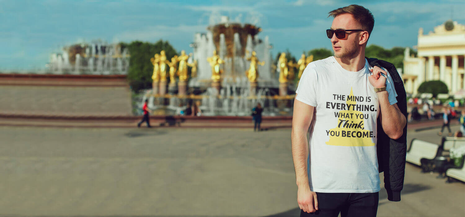 Inspirational Quoted Stylish T Shirts For Men
