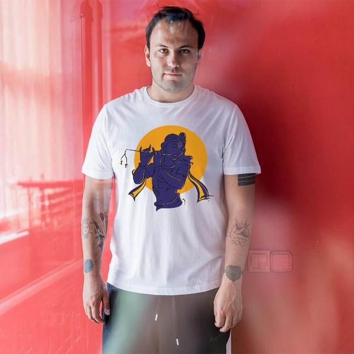 Krishna Shadow t-shirt for men