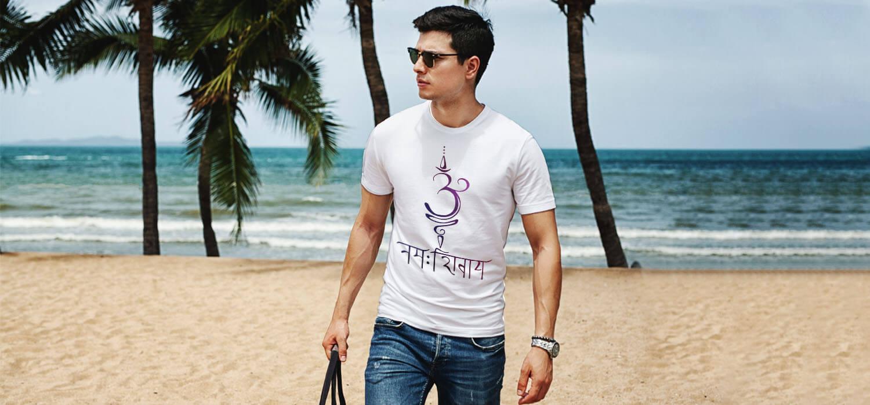 Om Namah Shivay Design best t shirt for men
