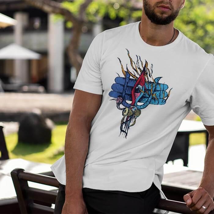Shiva Third Eye t shirt for men