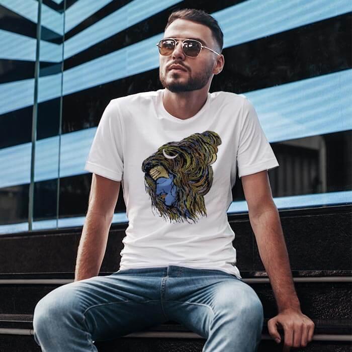 Stylish Mahakaal t-shirt for men