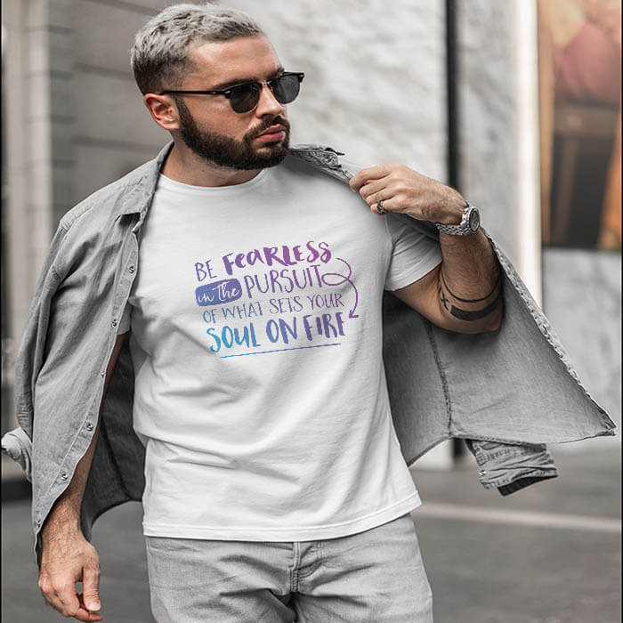 best inspirational quotes t shirt online