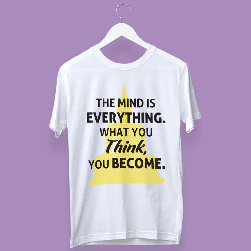 Inspirational Quoted Stylish T-Shirts For Men | Prabhu Bhakti