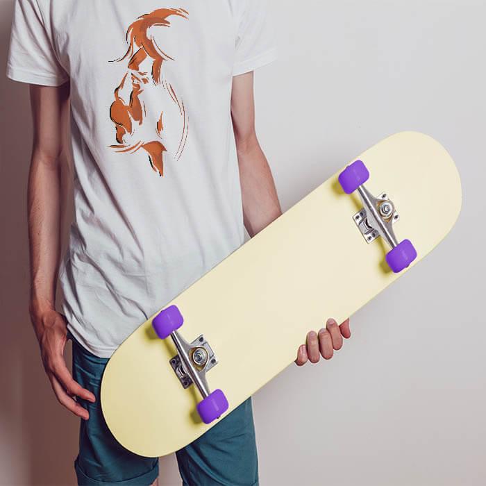 hanuman white t shirt for men