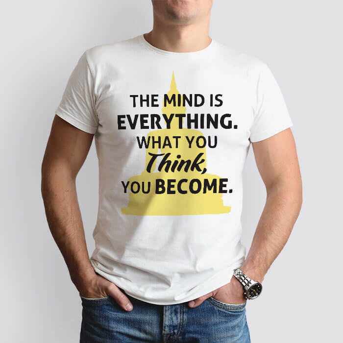 inspirational quotes t shirt for men