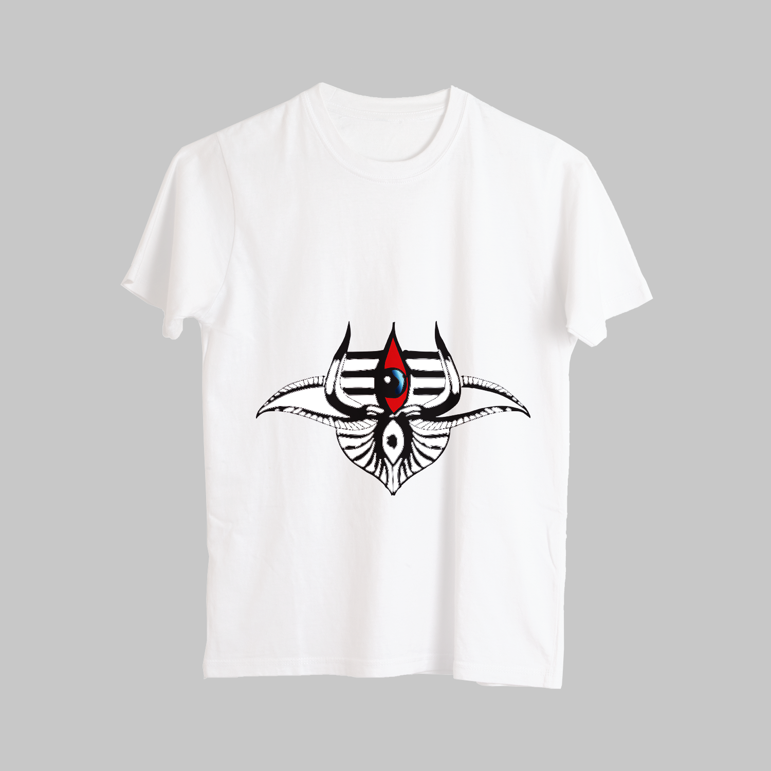 Unique Third Eye Street Style Printed T-Shirt