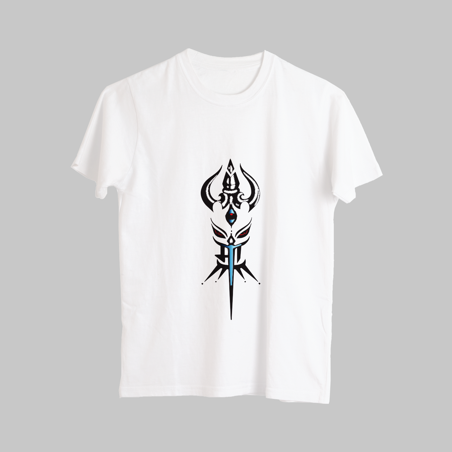 Unique Trishul Street Style Printed T-Shirt