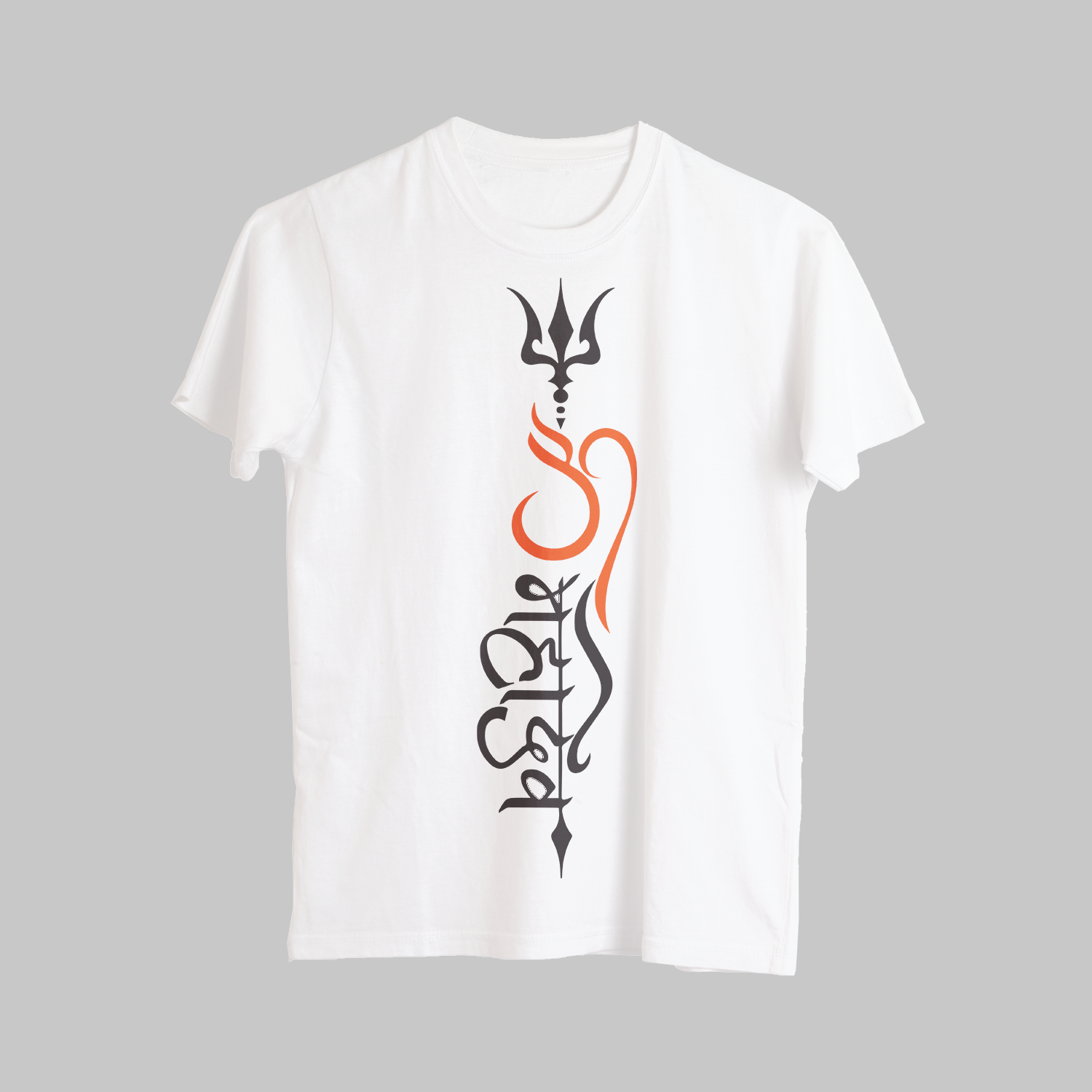 Street Style HD Mahadev With Om Printed T-Shirt
