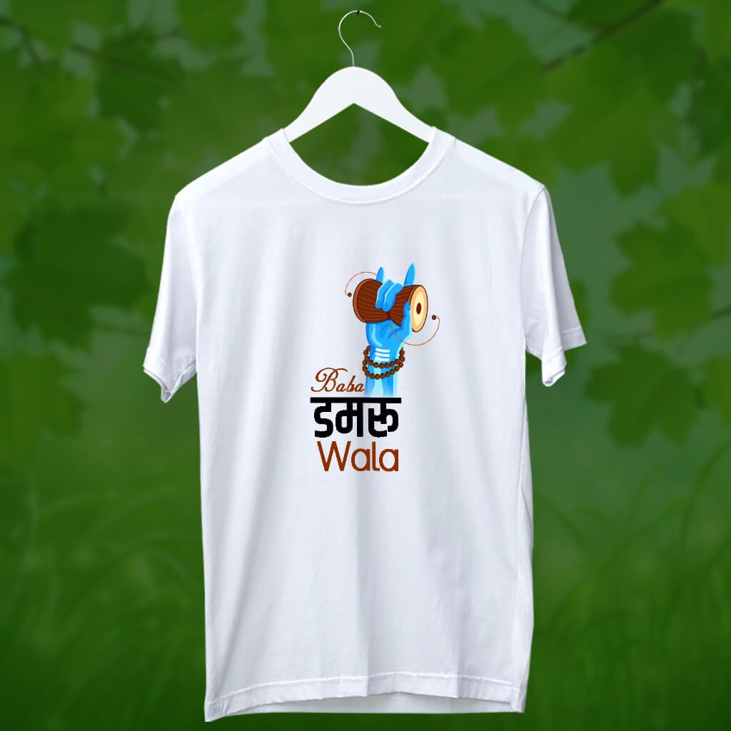Baba damru wala t shirt for men online