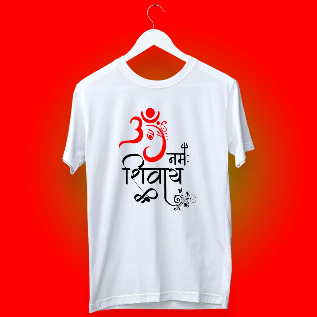 Best art Ganesha with OM Namah Shivay t shirt for mens online(2)