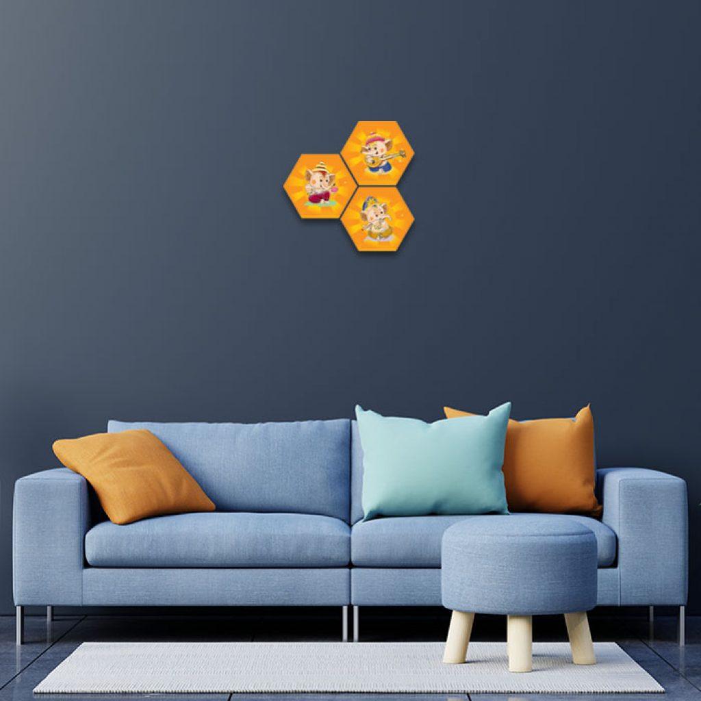 Cute Ganesha Home Decor Ideas For Living Room