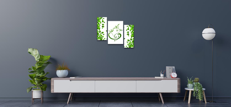 Eco Friendly Ganesha Bedroom Wall Paintings