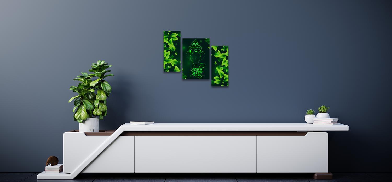Eco Friendly Ganesha Home Decor Ideas For Living Room
