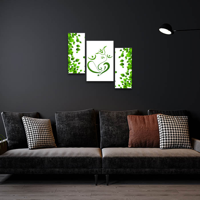 Eco Friendly Ganesha Home Decor Painting