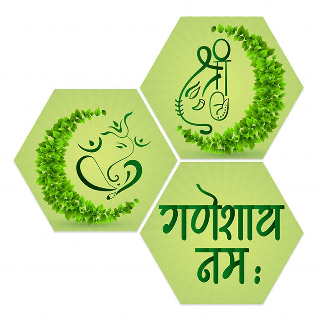 Eco Friendly Ganesha Images Home Decor Items
