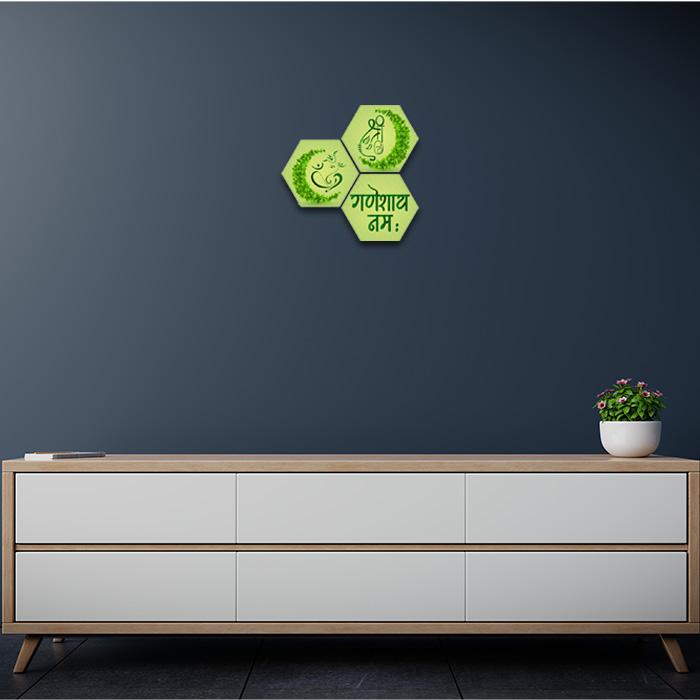 Eco Friendly Ganesha Images Home Decor Painting
