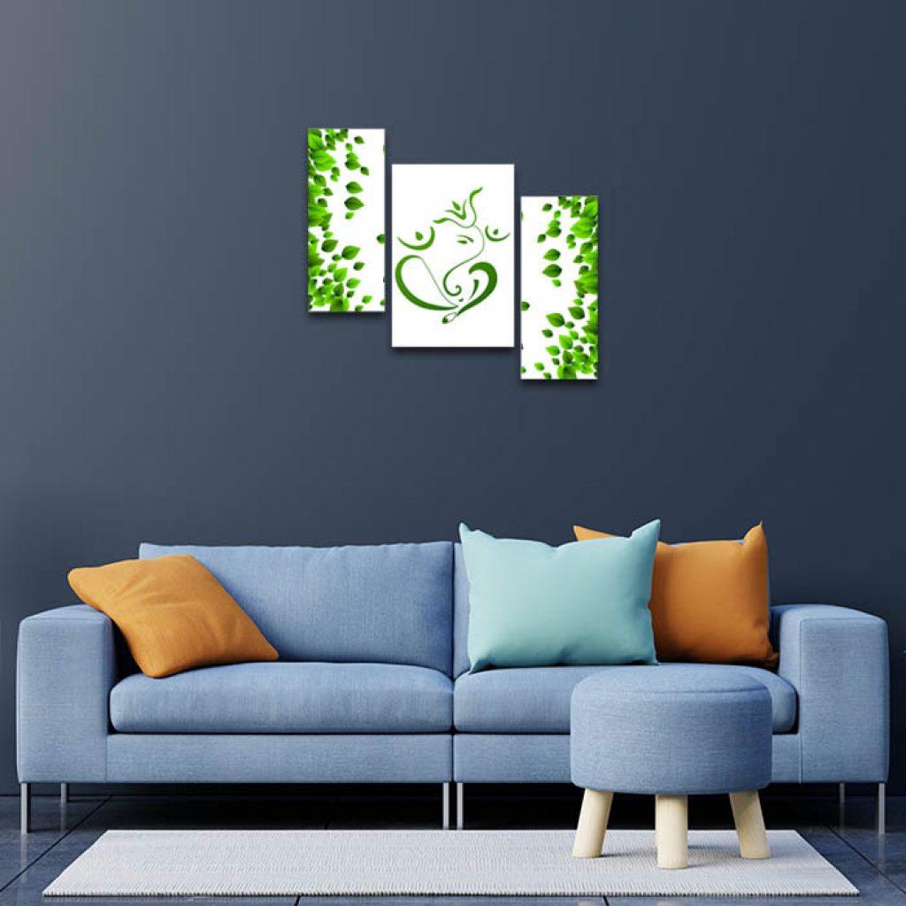 Eco Friendly Ganesha Paintings