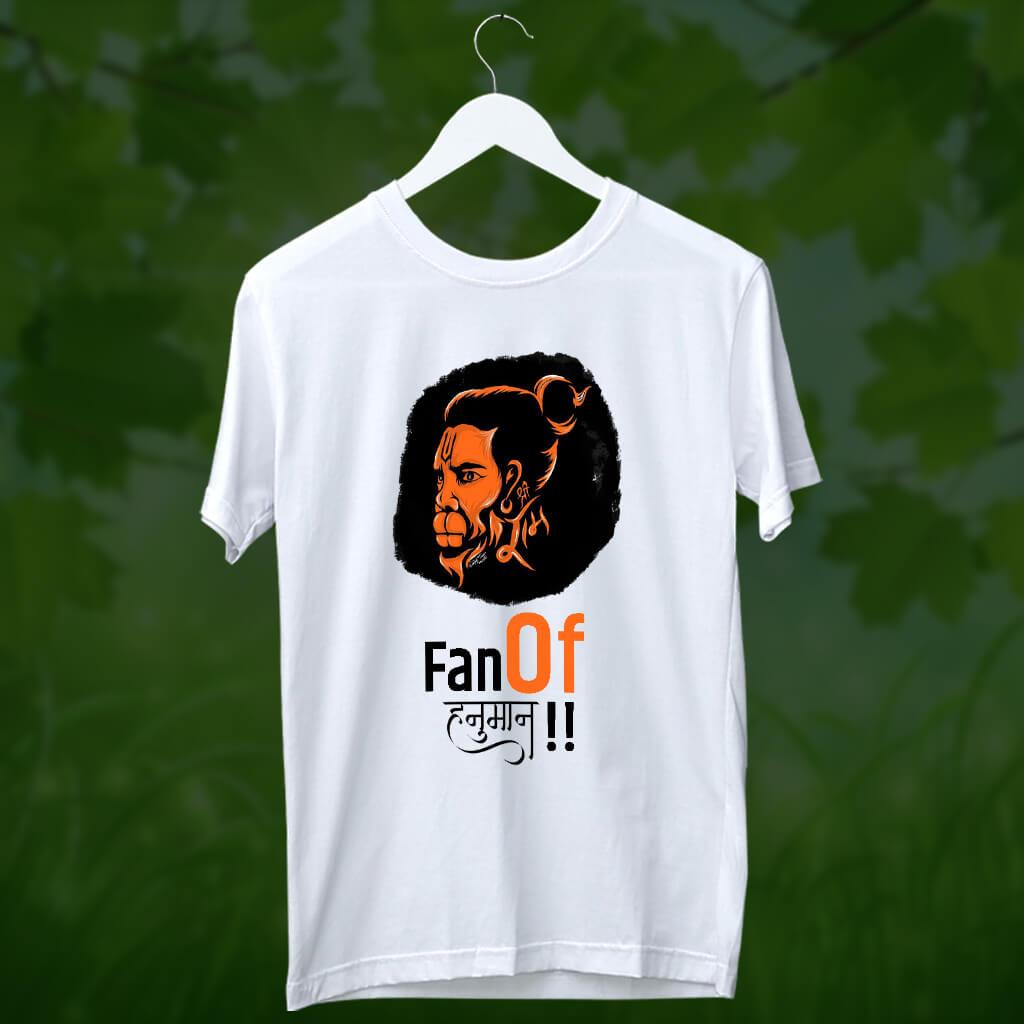 Fan of Hanuman t shirt for men online