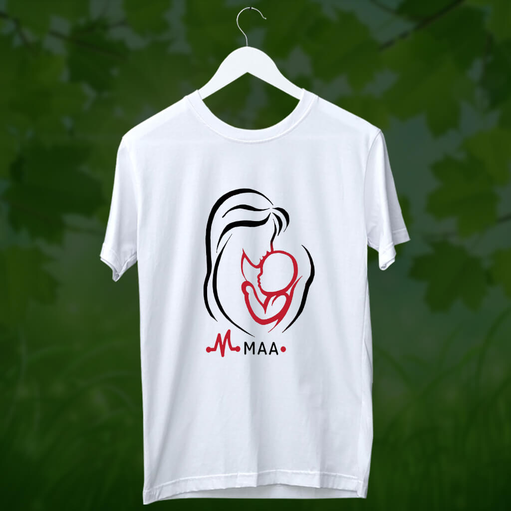 mother's day white t shirt