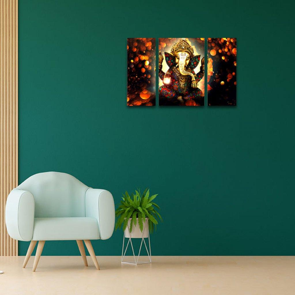 Ganesha Art Home Decor Ideas For Living Room