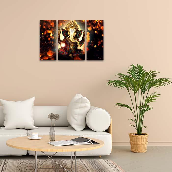 Ganesha Art Home Decor Painting