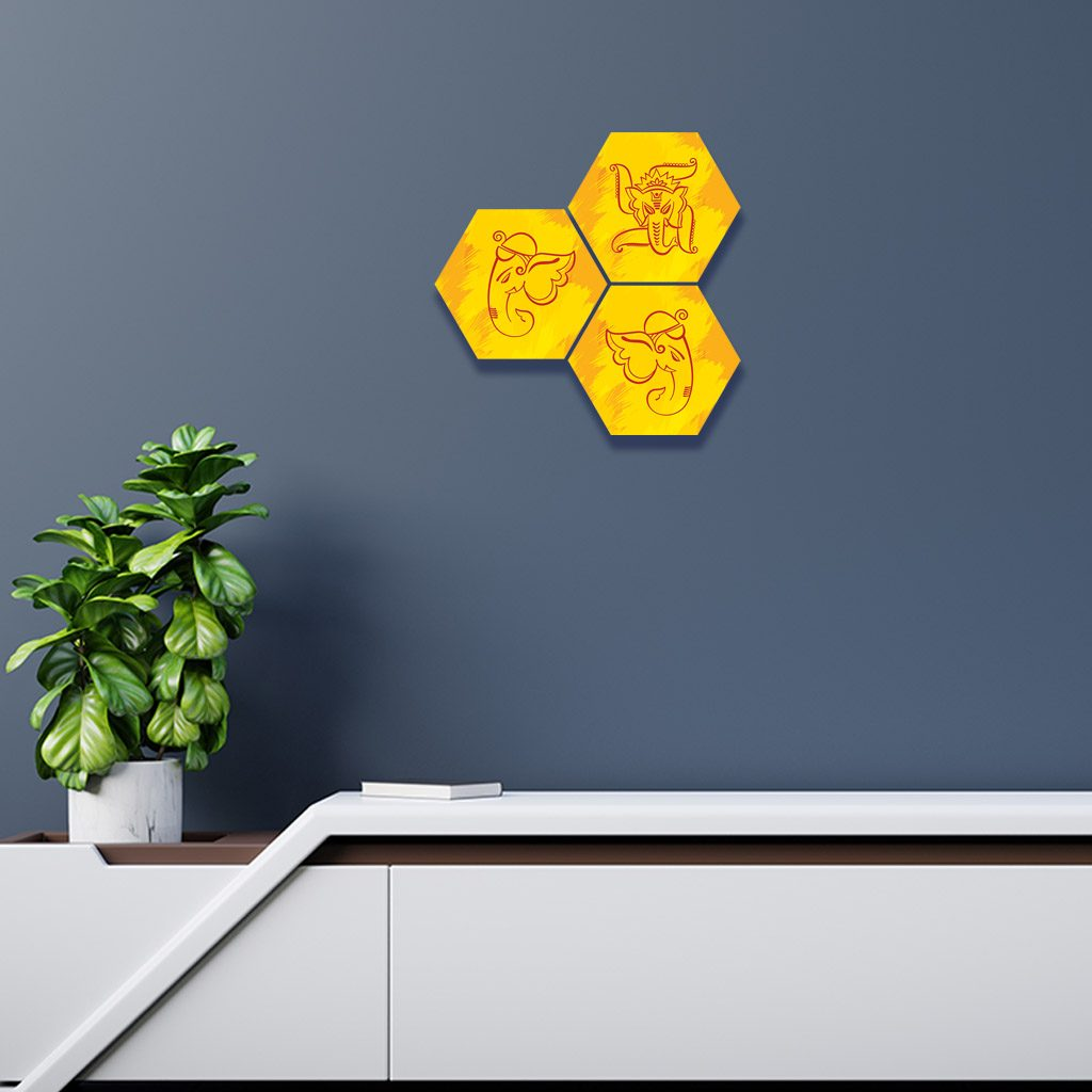 yello wall design for bedrooms